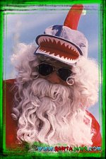 The Santa Jaws Hat